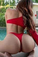 Booty Model Megan Krista 01