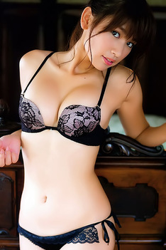Ikumi Hisamatsu Posing In Lingerie Sets